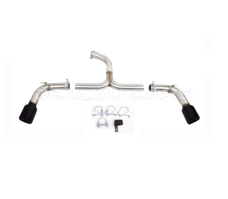 GTI Look Sport Exhaust System for Volkswagen Golf 7 GTD with Active Sound