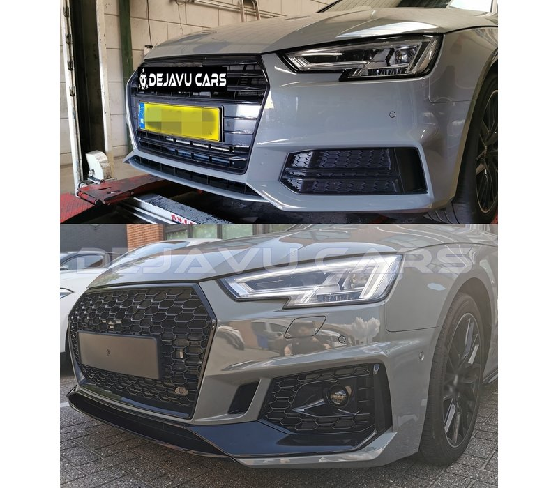 RS4 Quattro Look Front bumper for Audi A4 B9