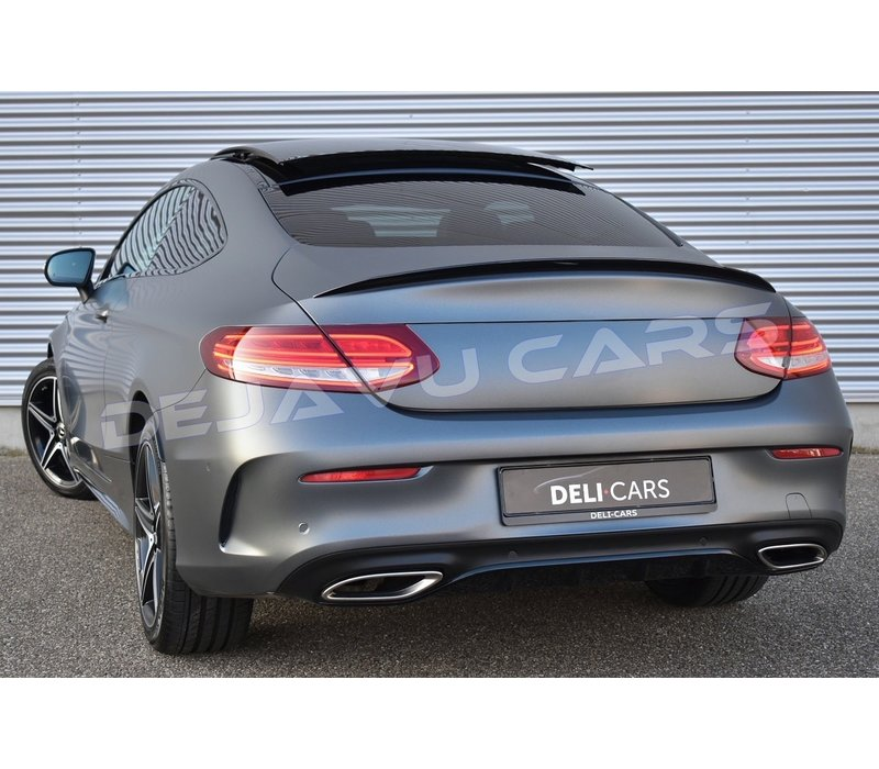 C63 AMG Look Achterklep spoiler lip voor Mercedes Benz C-Klasse C205 Coupe