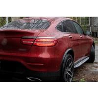 Treeplanken set voor Mercedes Benz GLC Klasse X253 SUV & C253 Coupe