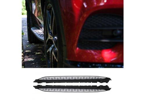 OEM LINE® Treeplanken set voor Mercedes Benz GLC Klasse X253 SUV & C253 Coupe