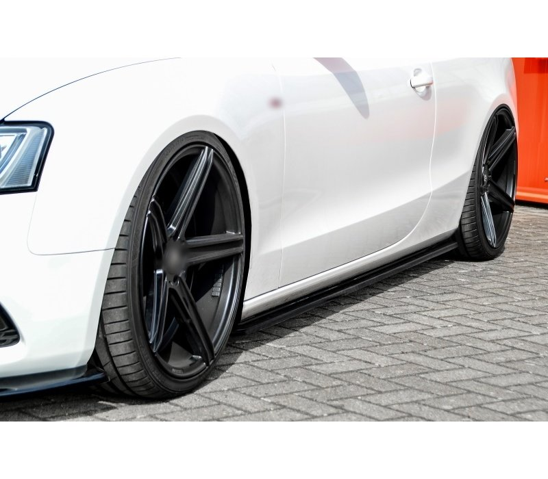 Side Skirts Diffuser for Audi A5 8T / S5 / S line Coupe / Cabrio