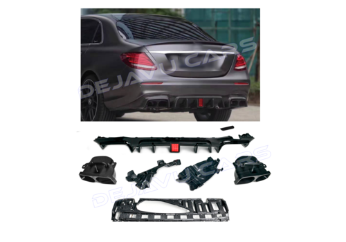 OEM LINE E63S AMG BRABUS Look Diffuser for Mercedes Benz E-Class W213