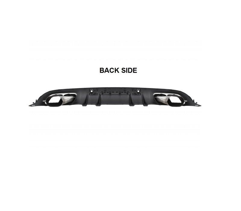 C63S AMG Look Diffuser voor Mercedes Benz C-Klasse C205 / A205