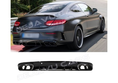 OEM LINE® C63S AMG Look Diffuser for Mercedes Benz C-Class C205 / A205
