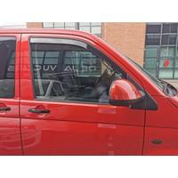 Zijwindschermen voor Volkswagen Transporter T5 / T6