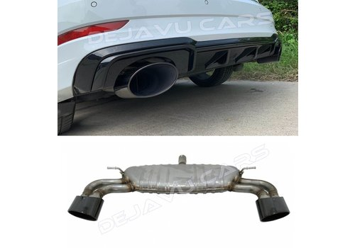OEM LINE® RS3 Look Exhaust system for Audi A3 8V Saloon (Sedan/Limousine)