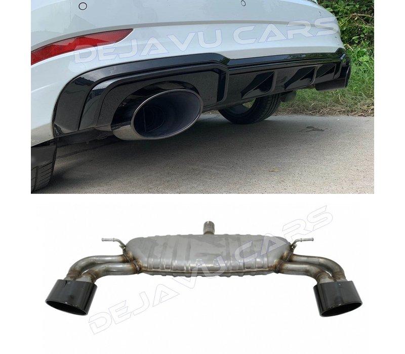RS3 Look Exhaust system for Audi A3 8V Sportback / Hatchback