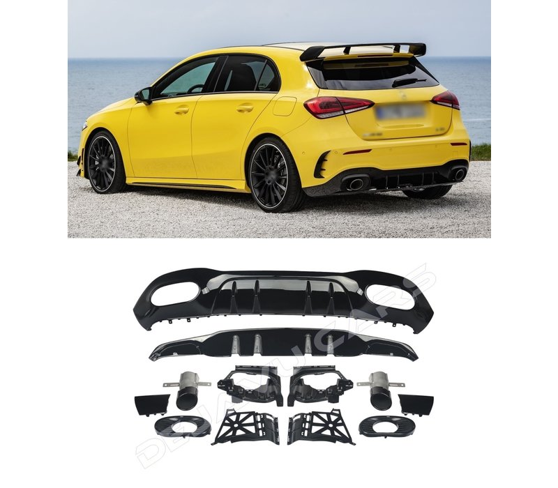A 35 AMG Look Diffuser for Mercedes Benz A-Class W177 Hatchback