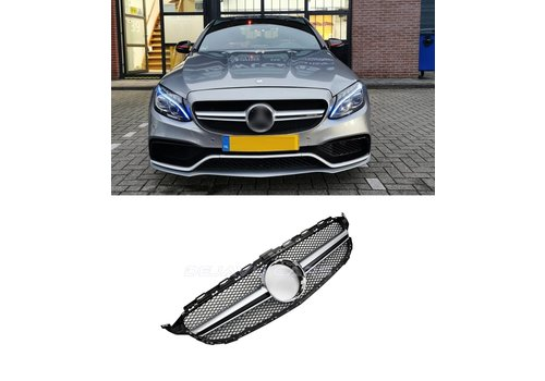 OEM LINE® C63 AMG Look Front Grill for Mercedes Benz C-Class W205