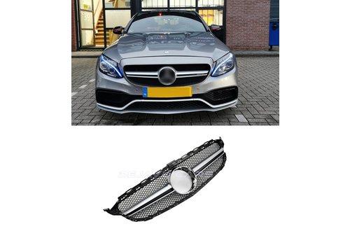 OEM LINE C63 AMG Look Kühlergrill für Mercedes Benz C-Klasse W205