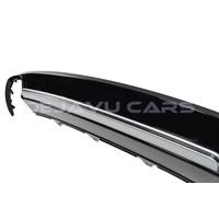 S4 Look Diffuser Black Edition voor Audi A4 B8.5 S line / S4