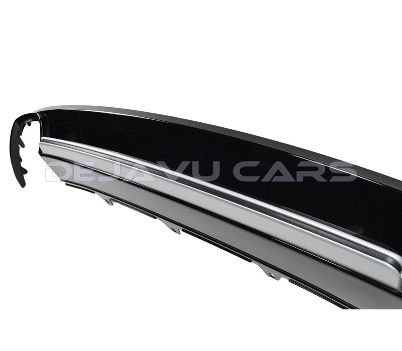 S4 Look Diffuser Black Edition for Audi A4 B8.5 S line / S4