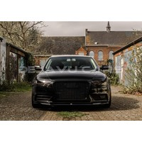 RS4 Look Front Grill Black Edition voor Audi A4 B8.5