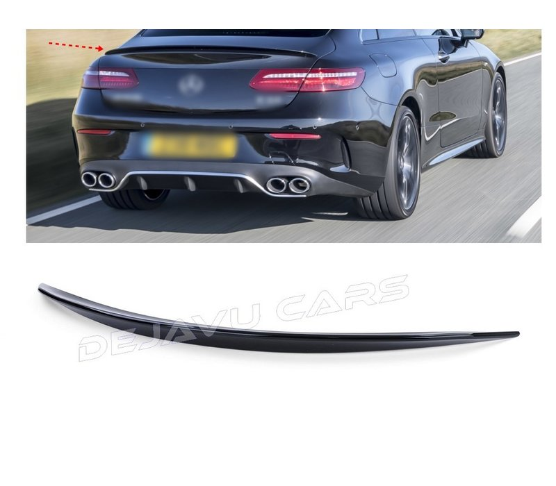 AMG Look Tailgate spoiler lip for Mercedes Benz E-Class C238 Coupe