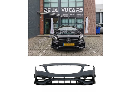 OEM LINE® Facelift CLA45 AMG Look Front bumper for Mercedes Benz CLA-Class W117 / C117