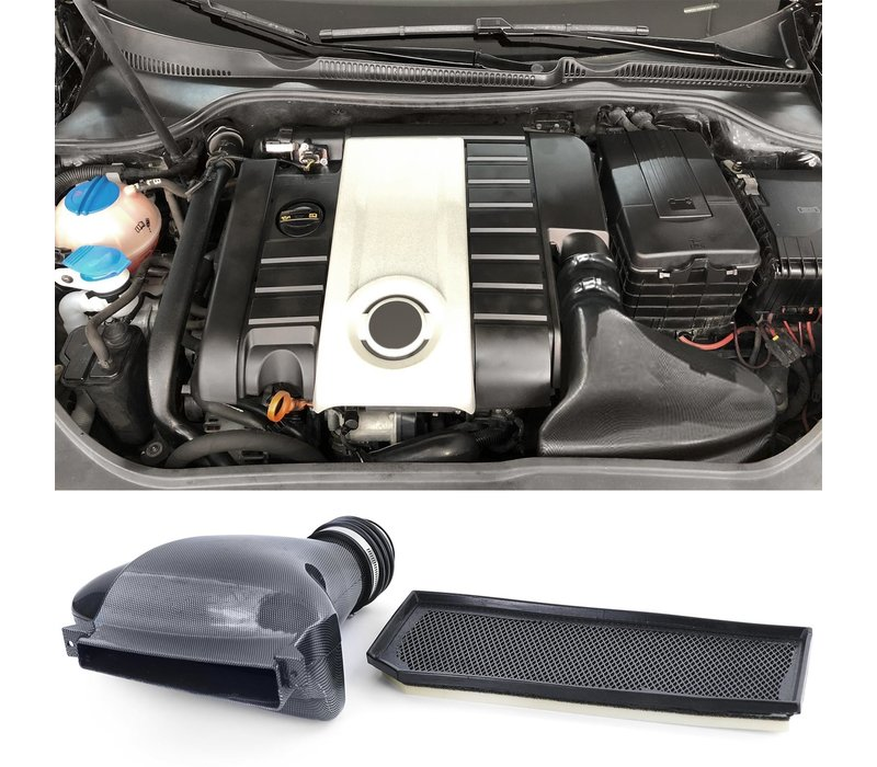 Carbon look Sport Air filter for Volkswagen Golf 5 GTI