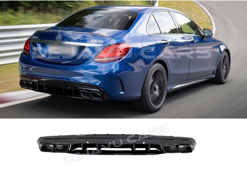 OEM LINE® C63S  AMG Look Diffuser for Mercedes Benz C-Class W205 / S205