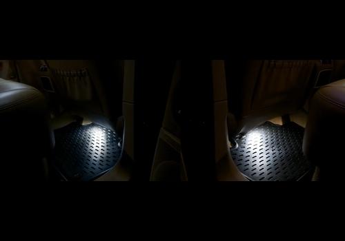 OEM LINE® LED Verlichtingsset Voetenruimte   Rood of Wit voor Porsche