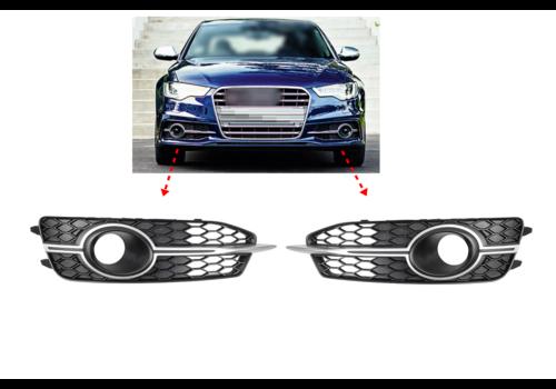 OEM LINE® Front bumper grille for  Audi A6 C7 S line / S6 C7