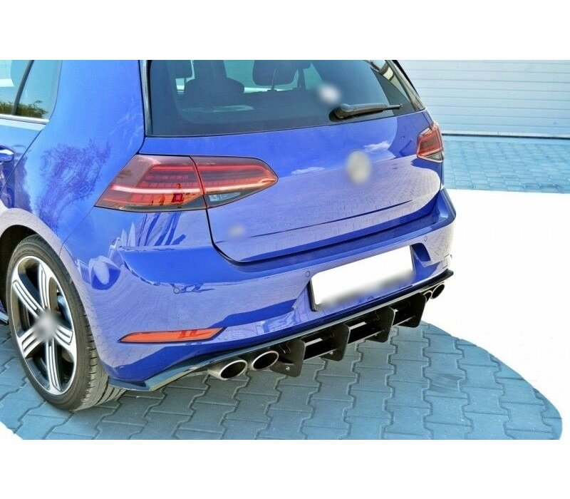 Aggressive Diffuser for Volkswagen Golf 7.5 R Facelift