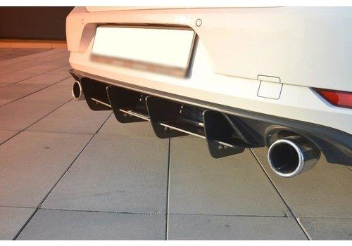 Maxton Design Aggressive Diffuser for Volkswagen Golf 7.5 GTI Facelift