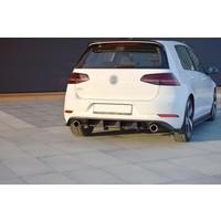 Aggressive Diffuser for Volkswagen Golf 7.5 GTI Facelift