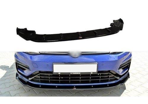 Maxton Design Front Splitter V.1 voor Volkswagen Golf 7.5 R / R line Facelift