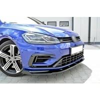 Front Splitter V.1 for Volkswagen Golf 7.5 R / R line Facelift