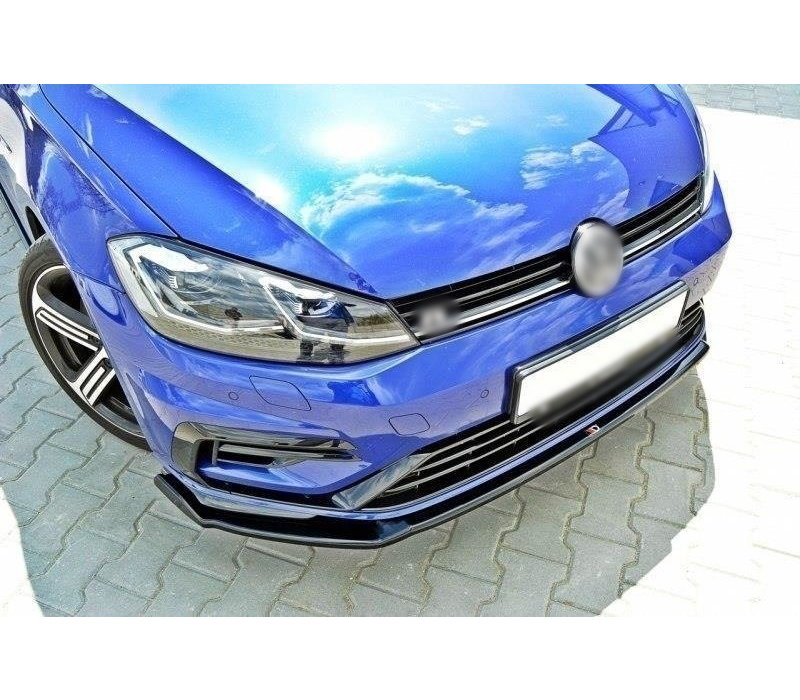 Front Splitter V.2 for Volkswagen Golf 7.5 R / R line Facelift