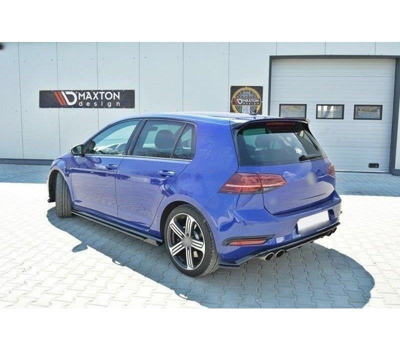 Side skirts Diffuser V.1 for Volkswagen Golf 7.5 R / R line Facelift