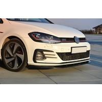 Front Splitter V.1 for Volkswagen Golf 7.5 GTI Facelift