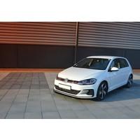Front Splitter V.1 voor Volkswagen Golf 7.5 GTI Facelift