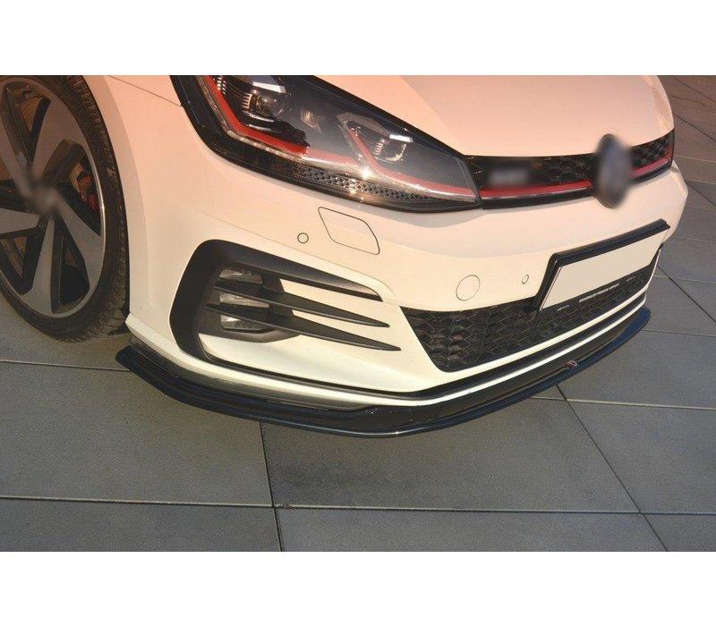 Front Splitter V.2 for Volkswagen Golf 7.5 GTI Facelift