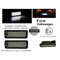 LED License Plate Lights for Volkswagen