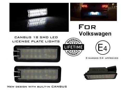 OEM LINE® LED License Plate Lights for Volkswagen