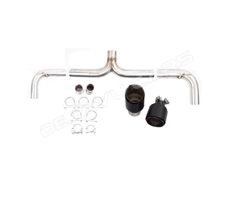 GTI Look Sport Exhaust System for Volkswagen Golf 7 / GTI & Clubsport / GTD / GTE