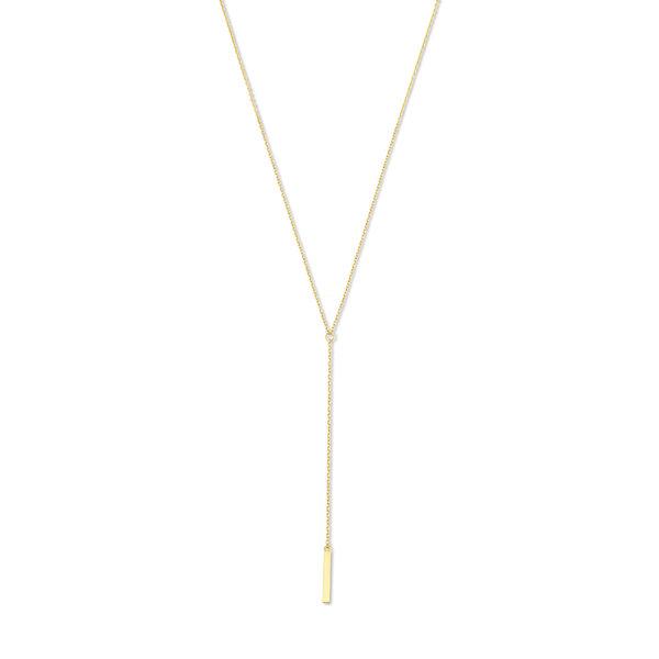 Isabel Bernard Le Marais Dauphine 14 karaat gouden collier