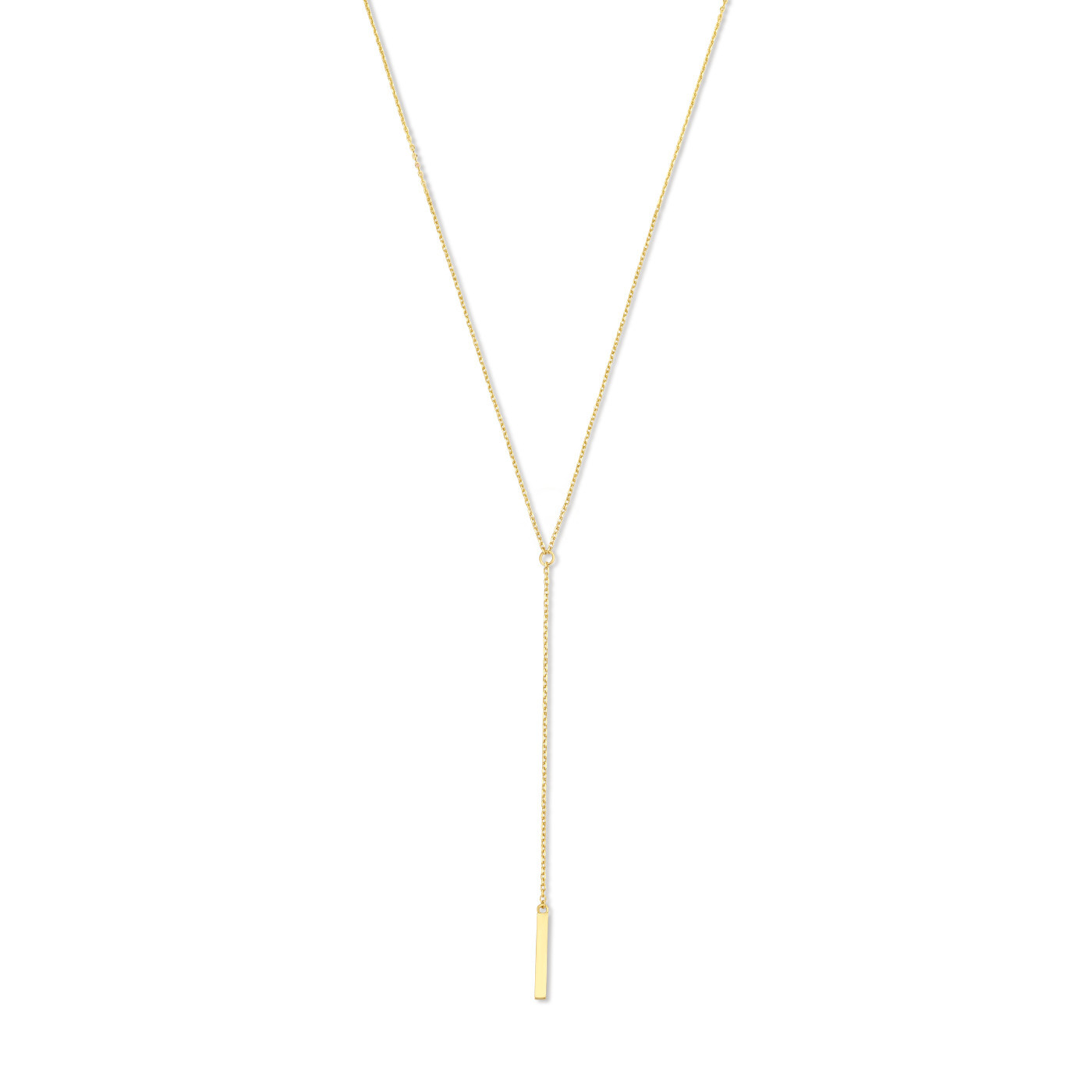 Isabel Bernard Le Marais Dauphine 14 karat gold necklace with rods