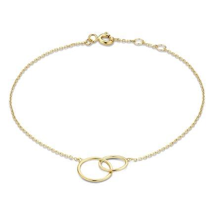Isabel Bernard Rivoli Coline 14 karaat gouden armband