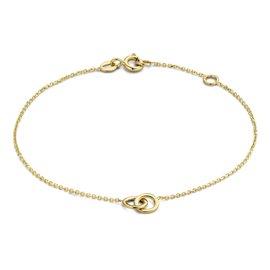 Isabel Bernard Le Marais Noémie 14 karaat gouden armband ringen