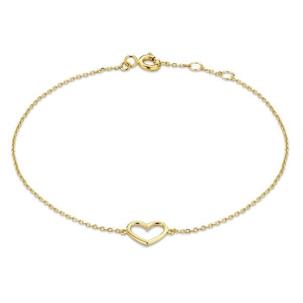 Isabel Bernard Belleville Amore 14 karaat gouden armband