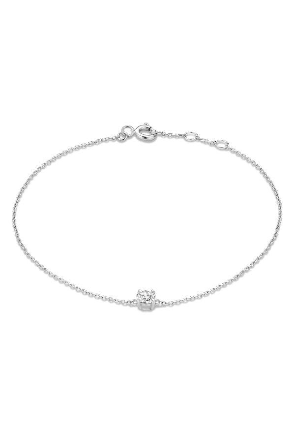 Isabel Bernard Bracelet Saint Germain Faïs en or blanc 14 carats