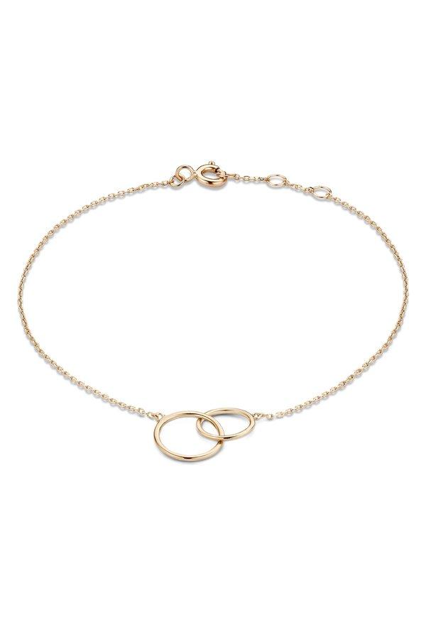 Isabel Bernard La Concorde Louane 14 karaat rosé gouden armband