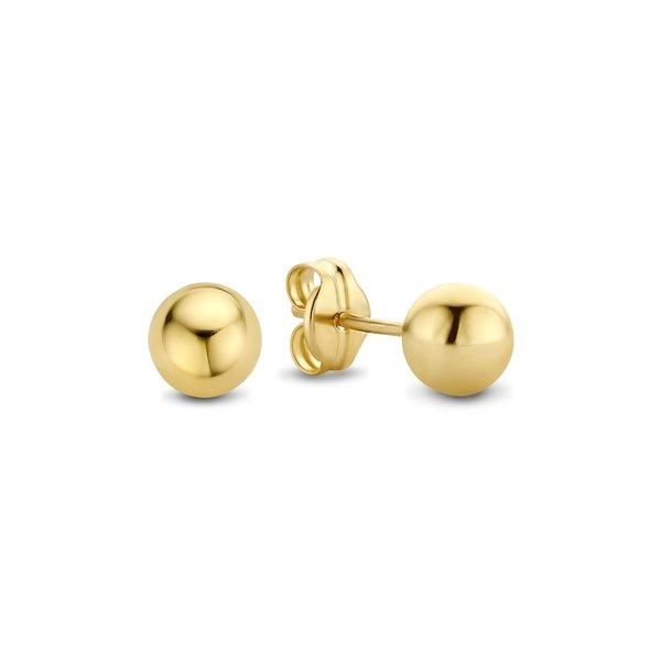 Isabel Bernard Rivoli Coco orecchini a bottone in oro 14 carati