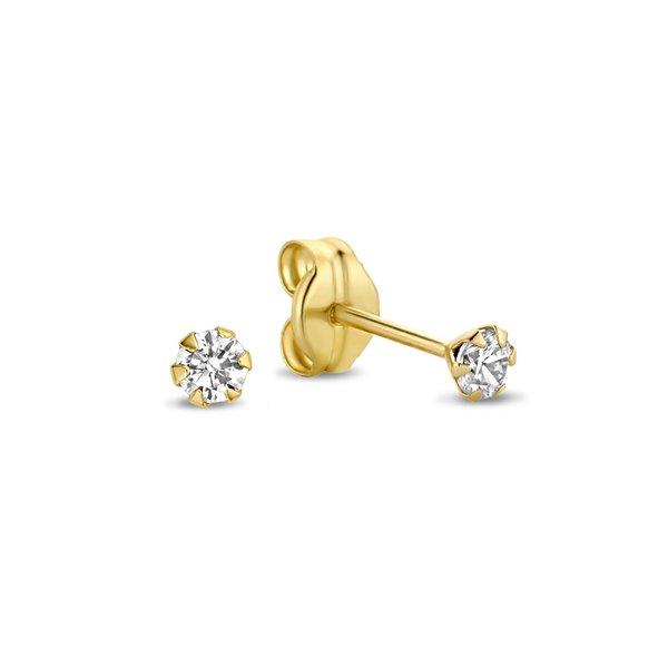 Isabel Bernard Rivoli Elise clous d'oreilles en or 14 carats