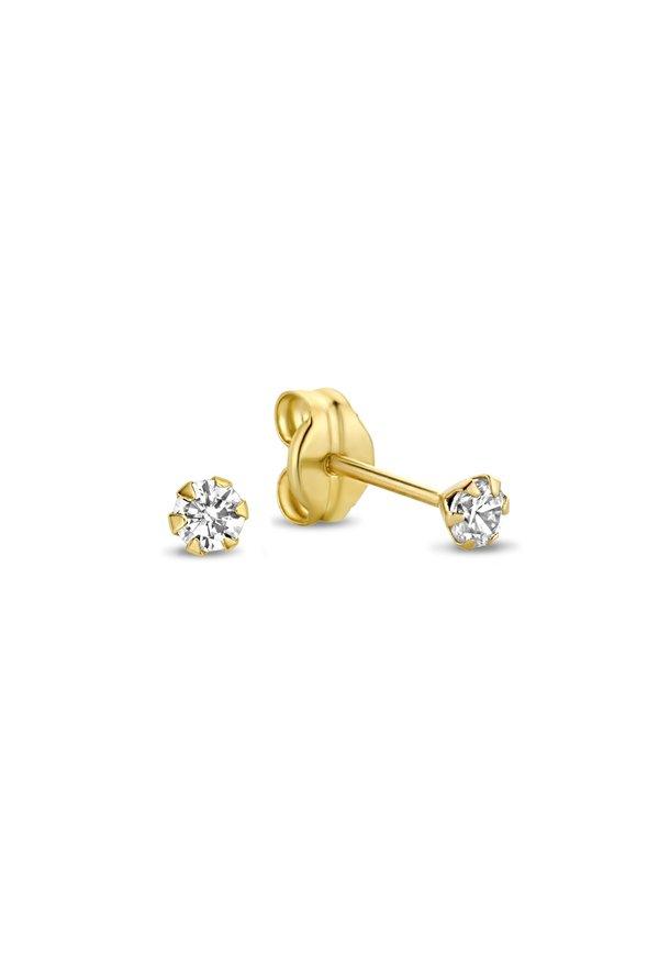 Isabel Bernard Rivoli Elise 14 carat gold ear studs