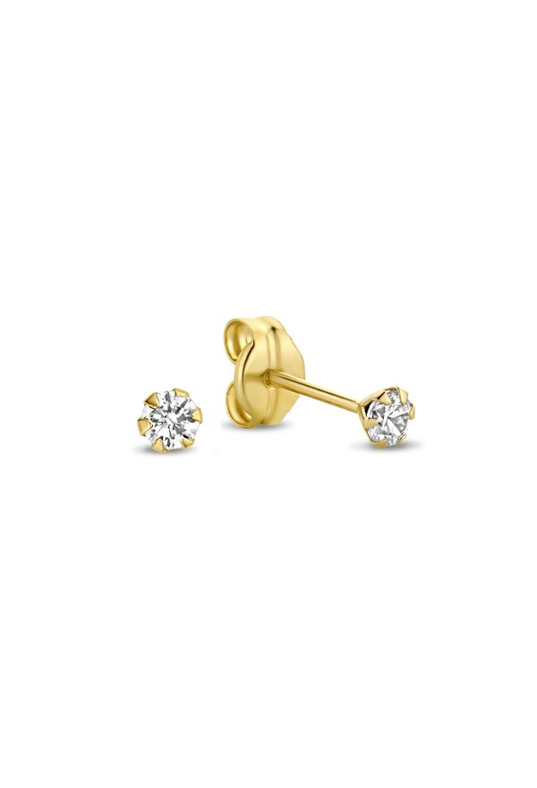 Isabel Bernard Rivoli Elise orecchini a bottone in oro 14 carati