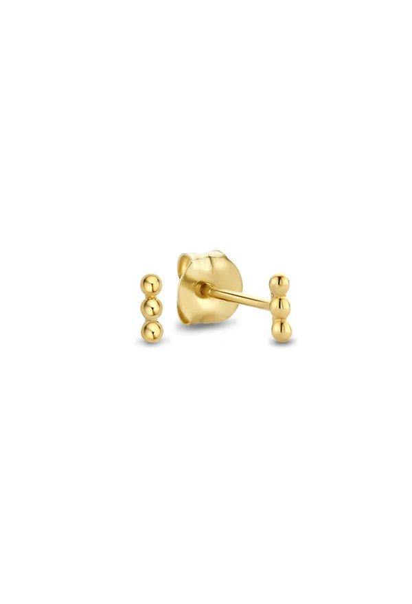 Isabel Bernard Rivoli Claire orecchini a bottone in oro 14 carati