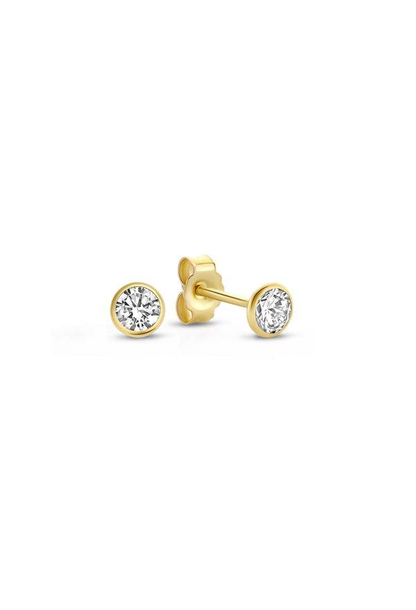 Isabel Bernard Rivoli Juliette 14 karat gold ear studs